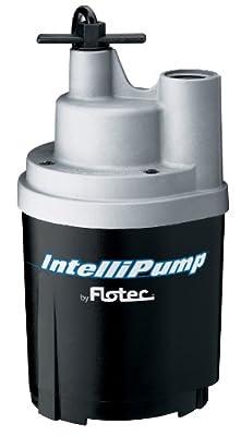 Pentair FPOS1775A Flotec 1/4 HP 1790 GPH Utility Pump