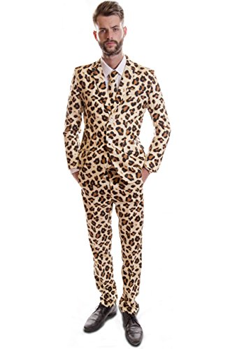 (Stag Suits Cheetah Animal Print (38