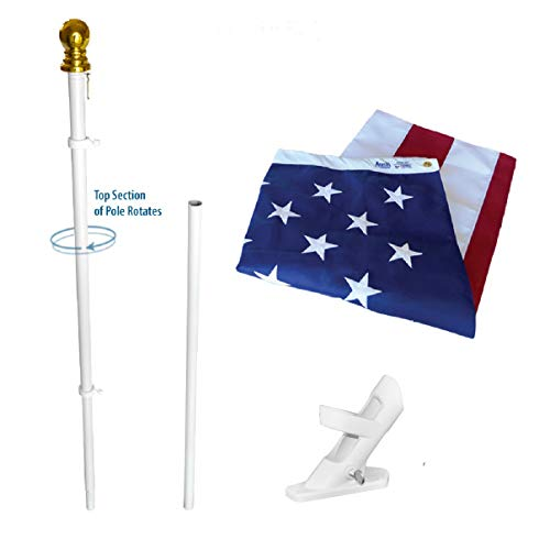 American Flag and Flagpole