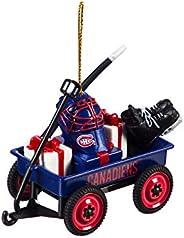 Team Sports America Montreal Canadiens Team Wagon Ornament