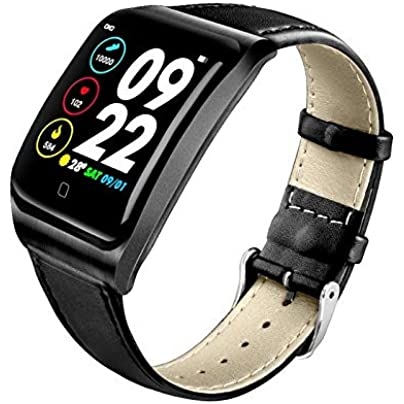 KLAYL smart watch E58 1 3 inch TFT color screen ECG PPG monitoring heart rate blood pressure heart rate meter pedometer intelligent Wristband Estimated Price £83.70 -
