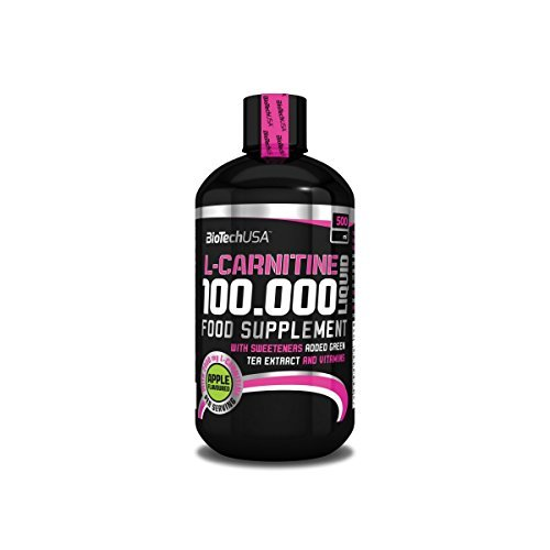 BiotestUSA L-Carnitine 100.000 Liquid 500 ml L-Carnitine - Apple