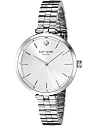 kate spade new york Womens 1YRU0859 Holland Analog Display Japanese Quartz Silver Watch