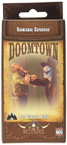 Doomtown: Reloaded Saddlebag #10: The Curtain Rises Board Game