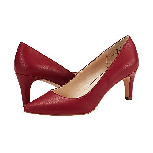 Corte da Tacchi Classiche Scarpe Donna Kitten con i Slip Red on da d54wnSq