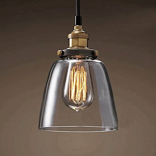 Fuloon Retro Vintage Country Style Industrial Droplight Sing