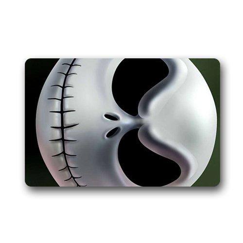 jack skellington funny scary face Custom Doormat (23.6x15.7 inch) Indoor Outdoor