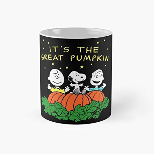 Great Pumpkin Peanuts Halloween 11 Oz Coffee -
