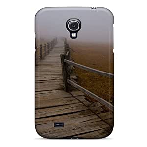 Case Cover Wooden Path Into The Fog/ Fashionable Case For Galaxy S4