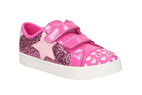 Clarks , Mädchen Sneaker Pink rose Rose