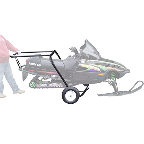 Rage Powersports SNO-1509 Snowmobile Dolly Cart, Hoist and Lift with Large Pneumatic Wheels