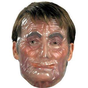 Transparent Old Male Man Plastic Adult (Transparent Old Man Mask)