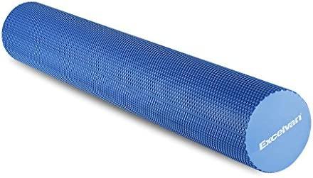 Excelvan - Foam Roller Rodillo de Espuma EVA para Yoga Pilates Masaje (Gomaespuma, 90 x 15Cm, Para Estiramientos Fitness Entrenamiento Gimnasia ...