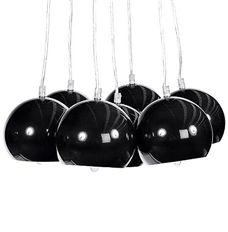 Alterego-Lámpara de techo colgante diseño BILBO7 bolas ...