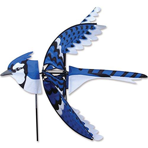 Premier Kites 35 in. Flying Eastern Blue Jay Spinner ()