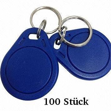 100 X RFID llavero NFC de token: Amazon.es: Electrónica
