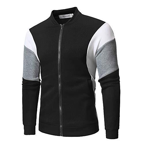 Outwear Sport Chaud Capuche Moonuy Sweat Noir14 Hommes Chaud De À D'hiver Manteau Veste Slim qwzUAUFt