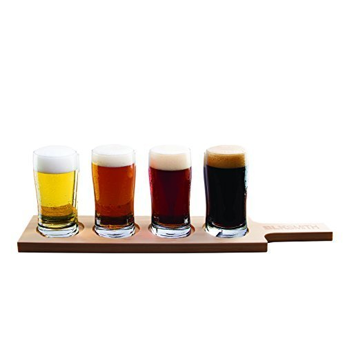 8 ounce beer glasses - 4