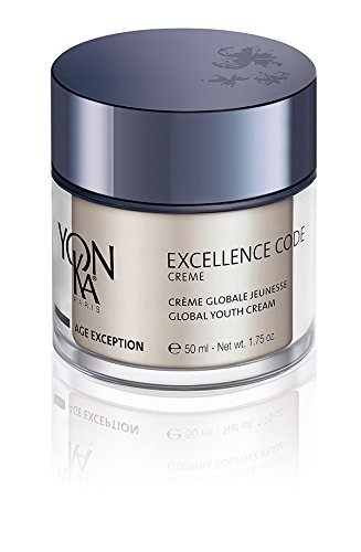 YONKA Age Exception Excellence Code Creme – Unique and Specialized Anti-Aging Cream Designed For Mature And Hormonal Imbalanced Skin Types (1.75 Ounce/50 Milliliter) For Sale