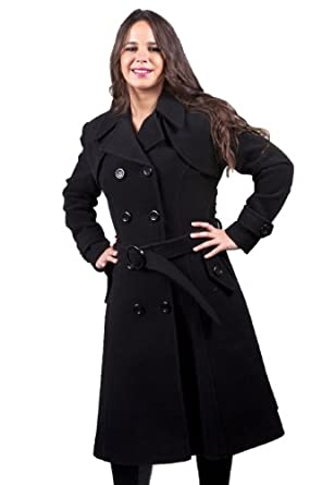 Long Black Winter Coat