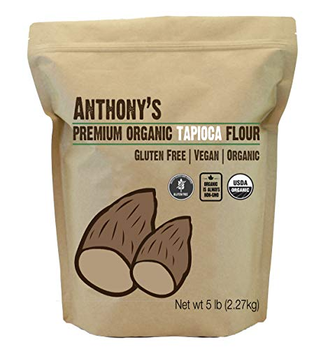 Organic Tapioca Flour / Starch (5 Pounds) by Anthony's, Gluten-Free & Non-GMO by Anthony's (Image #5)