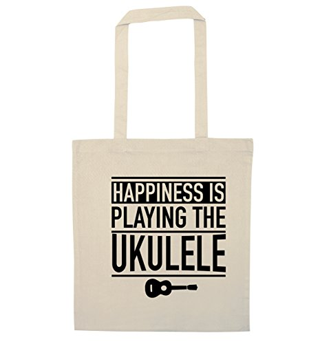 Tote Happines ukulele playing Natural is Flox the Creative Bag IzHzqPw