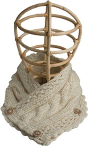 Nirvanna Designs SC21 Pretty Neck Warmer, White by Nirvanna Designs