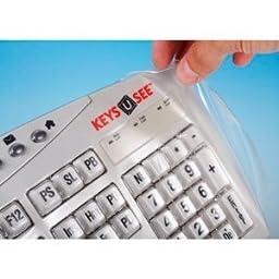Keyboard Cover for Keys U See Keyboard