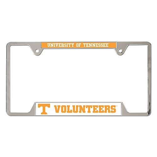 WinCraft NCAA University of Tennessee 21930010 Metal License Plate Frame