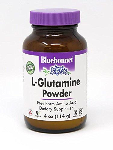 Bluebonnet L-Glutamine Powder, 4 Ounce by BlueBonnet
