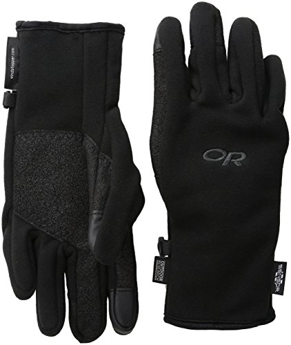Outdoor Research Gripper Sensor Gloves, Black, Small
