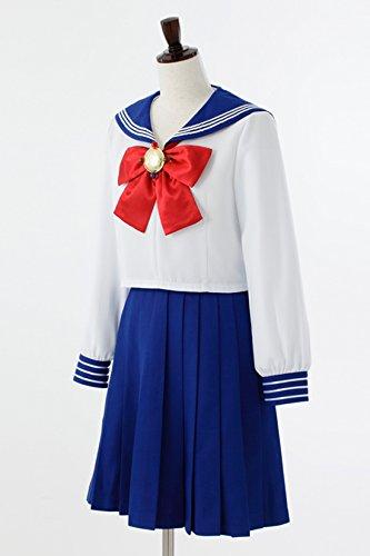 Pretty soldier sailor moon Crystal 10-junior high school uniform women's official costume ladies l
