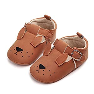 Wanshop® Newborn Baby Soft Leather Anti-Slip Shoes – Pram Shoes – Toddler Shoes Sneaker
