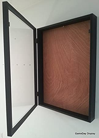 Awesome Jersey Display Case Jersey Display Frame Jersey Shadow Box Deep With Hinged  Door Wood