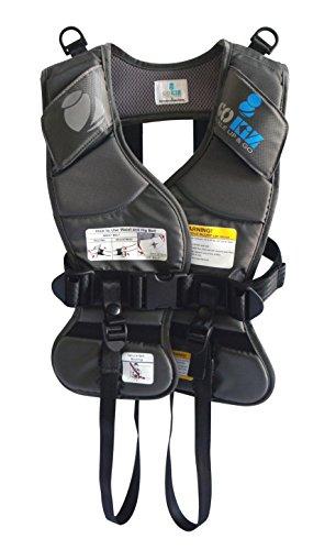 GOKIZ Car Seat Vest, Charcoal, Small by GOKIZ (Image #1)