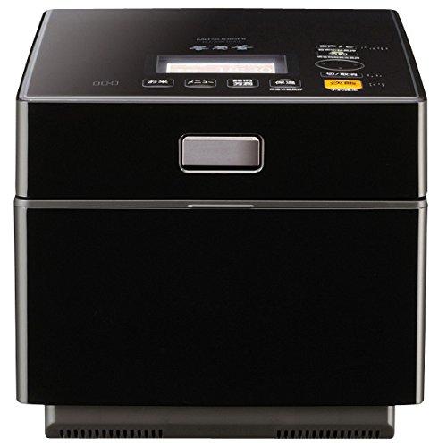 三菱 IHジャー炊飯器(5.5合炊き) ピアノブラックMITSUBISHI 蒸気レスIH 本炭釜 NJ-XW104J-K   B00EC5B2PG