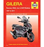 Gilera Runner, DNA, Ice & SKP/Stalker Service and Repair Manual: 1997 to 2011 (Haynes Service & Repair Manual) (Paperback) - Common
