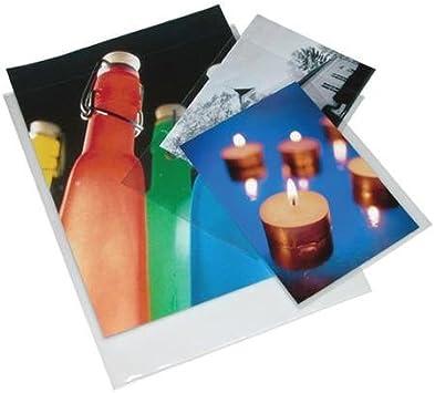 5x7-6PR-100 Print File 6-mil Polypropylene Presentation Pockets 5x7-100,