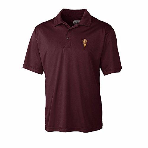 Arizona State Sun Devils Polo Shirt Golf Maroon - XXL