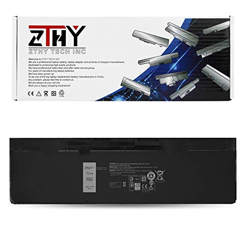 ZTHY High Capacity 52WH VFV59 Laptop Battery Replacement for DELL Latitude E7240 Latitude E7250 Series Notebook GVD76 WD52H F3G33 HJ8KP W57CV 451-BBFX 451-BBFW 4-Cell 7.4V (Battery Notebook Large Capacity)