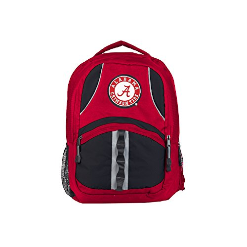 The Northwest Company Officially Licensed NCAA Alabama Crimson Tide Captain Backpack (Laptop Tide Crimson Alabama Bag)