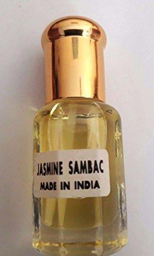 (Jasmine (Jasmine Sambac) Attar/Ittar concentrated Perfume Oil - 10 ml)