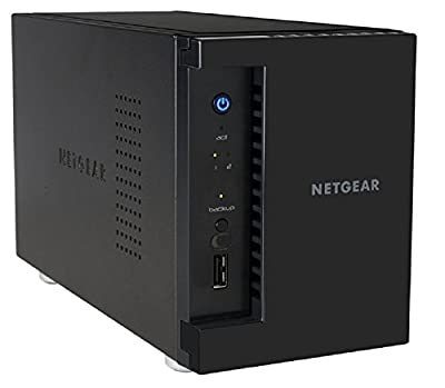 NETGEAR ReadyNAS 202 2-Bay Network Attached Storage Diskless (RN202-100NES)