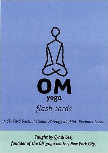 Om Yoga Flash Cards: Amazon.es: Cyndi Lee: Libros en idiomas ...