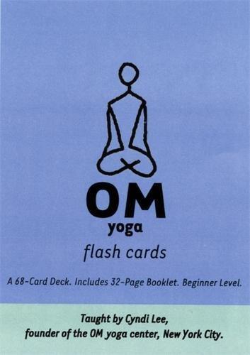 Om Yoga Flash Cards Lee Cyndi 0656629001975 Amazon Com Books