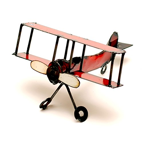 Rustic Arrow X-Small Airplane for Decor, 8 by 15 by 9 -Inch, ()