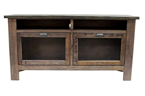 Crafters and Weavers Emerson Solid Wood 60' TV Stand, Sideboard Console