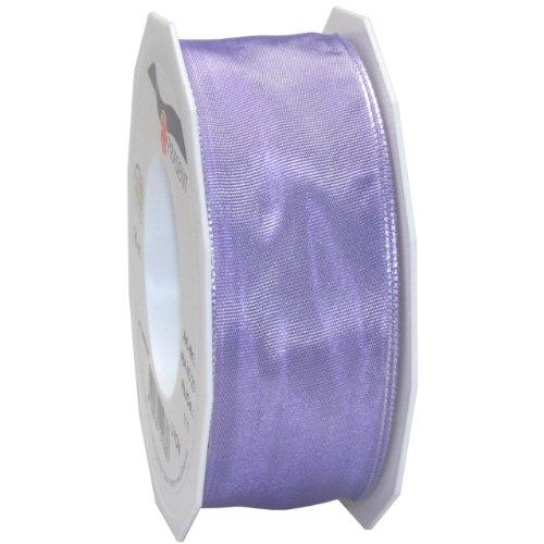 Morex Ribbon French Wired Lyon Fabric Ribbon, 1-1/2-Inch by 27-Yard, Lavender