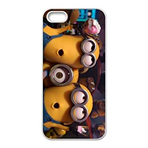 Mischievous Minions Cell Phone Case for iPhone 5S
