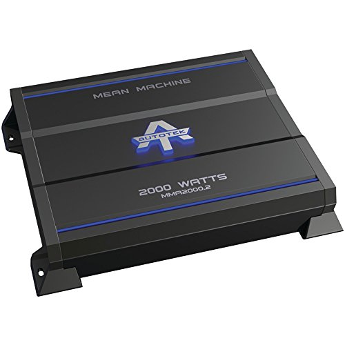 AUTOTEK MMA2000.2 The Mean Machine(R) 2-Channel Class AB Amp (2,000 Watts) electronic consumer (Mean Machine Amp)